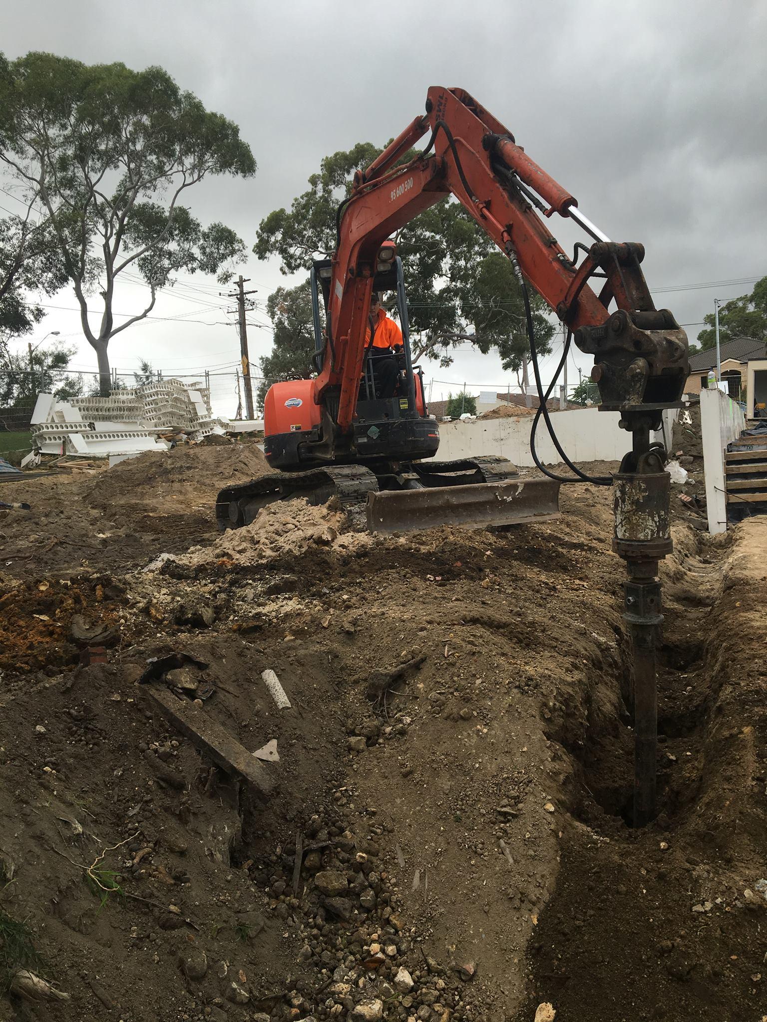 bulk & detail excavation